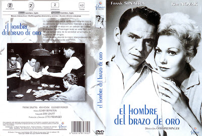 El hombre del brazo de oro | 1955 | The Man With the Golden Arm | Caratula cine clásico