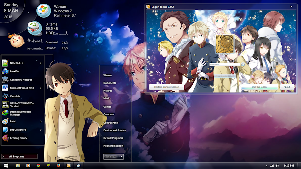 [Theme Win 7 ]Aldnoah.Zero by Shiroskin 1
