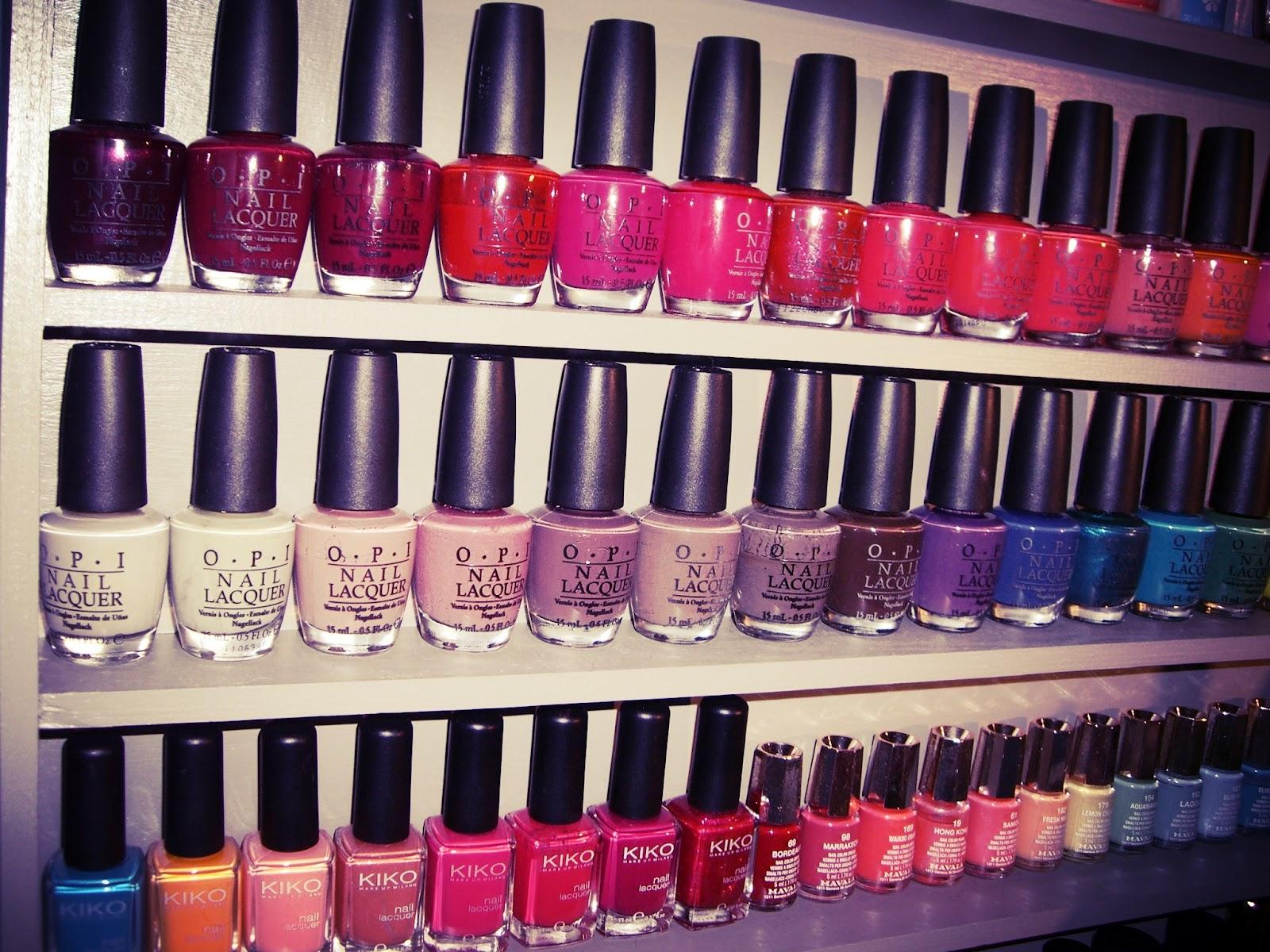 Addictions Beauty Blog: Mon rangement Make-up/Vernis/Accesoires