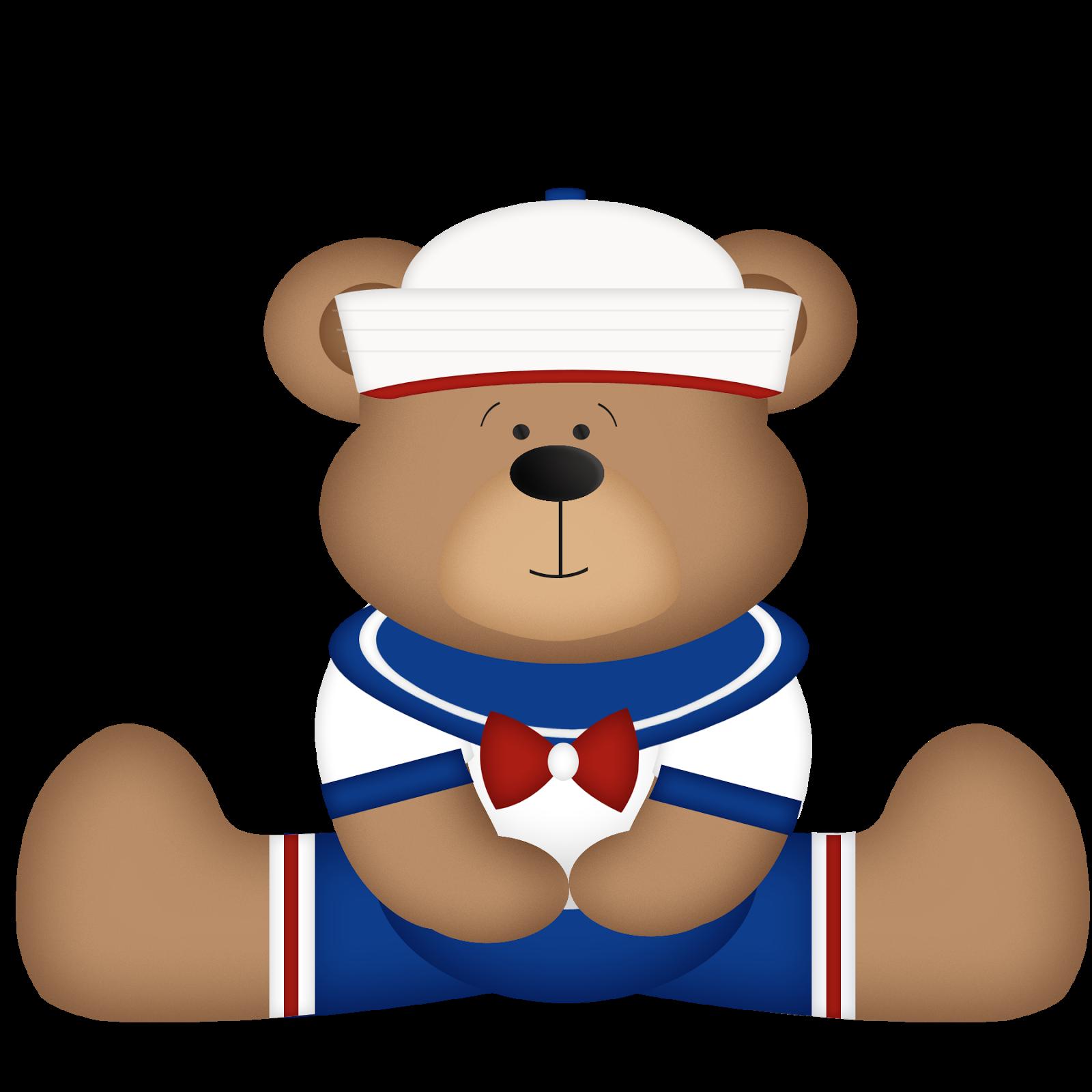 Bebe Ursinho Png ~ Mam u00e3e Kriativa Kit beb u00ea urso marinheiro