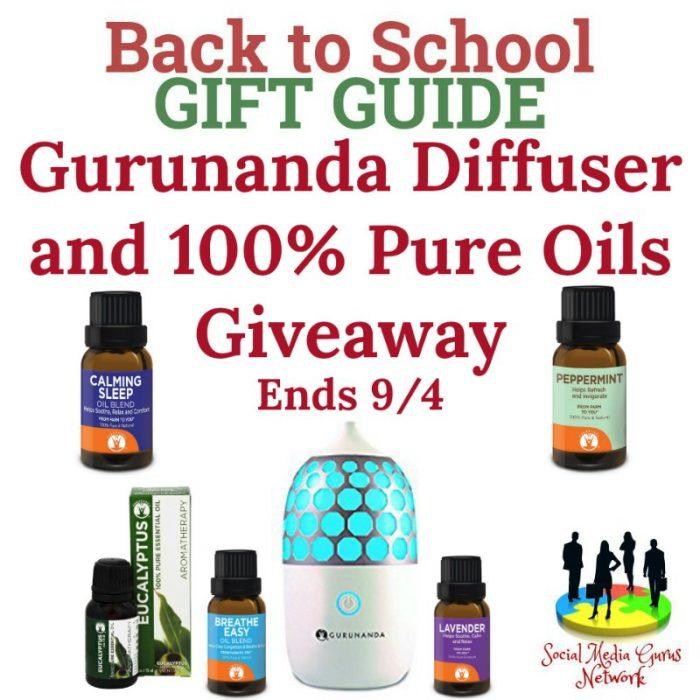 Gurunanda Diffuser 100% Pure Oils