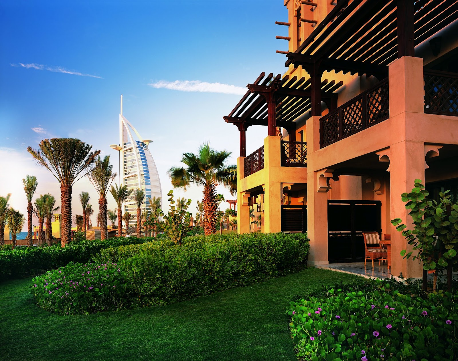Dubai Arabian HOuse 3D Front Elevation Design
