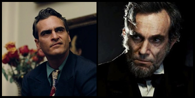 Joaquin Phoenix (The Master) y Daniel Day Lewis (Lincoln)