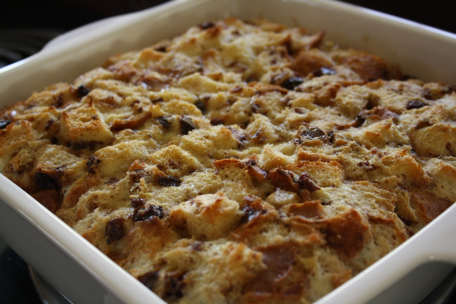 Meals with Michelle: Cinnamon Raisin Bread Pudding