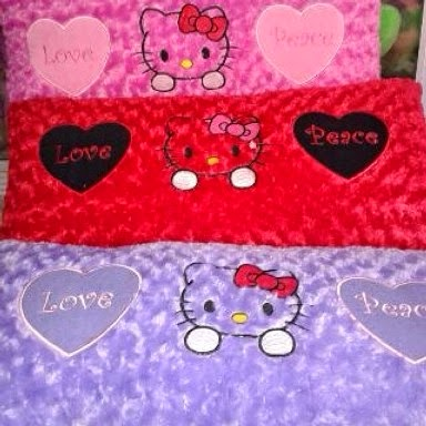 PUSAT  GROSIR BANTAL PANJANG HELLO KITTY JUMBO
