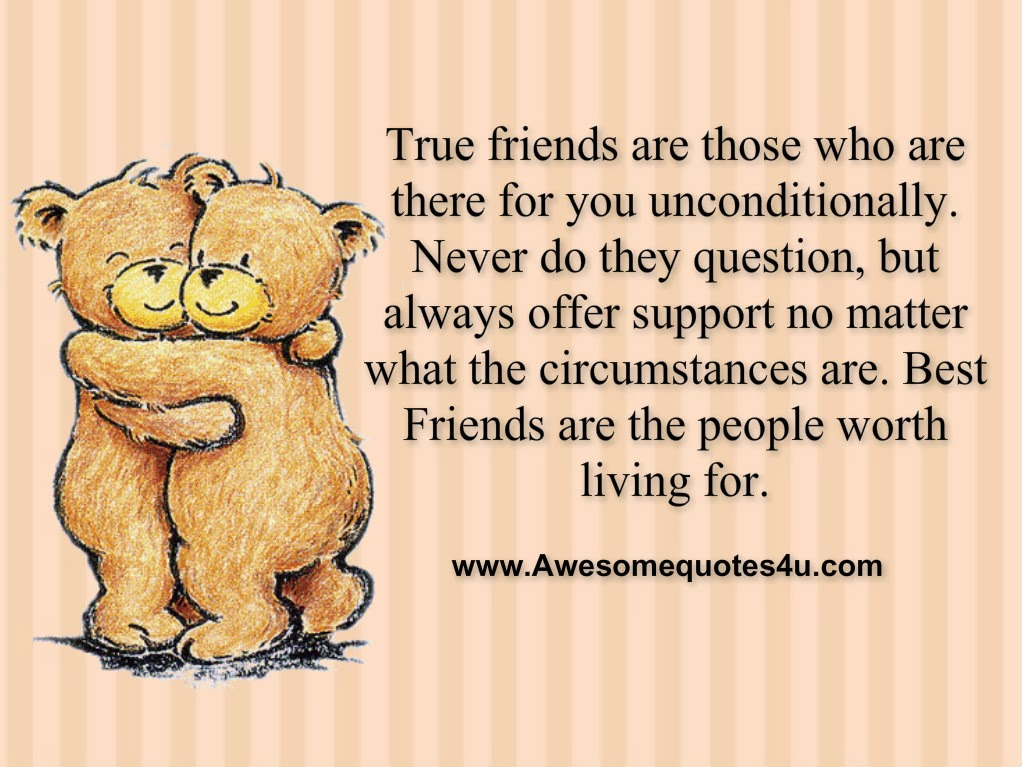 Friends Are Always There For You Quotes. QuotesGram