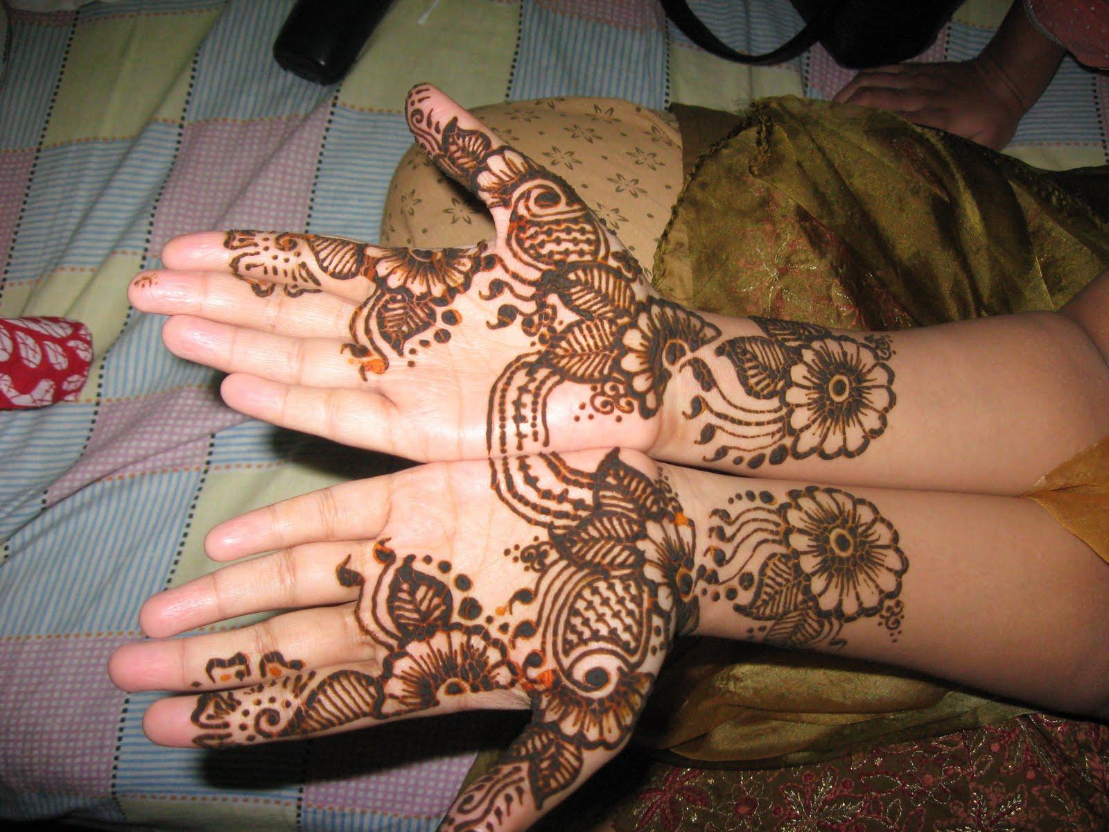 Mehndi For Baby : Haider munir new mehndi designs