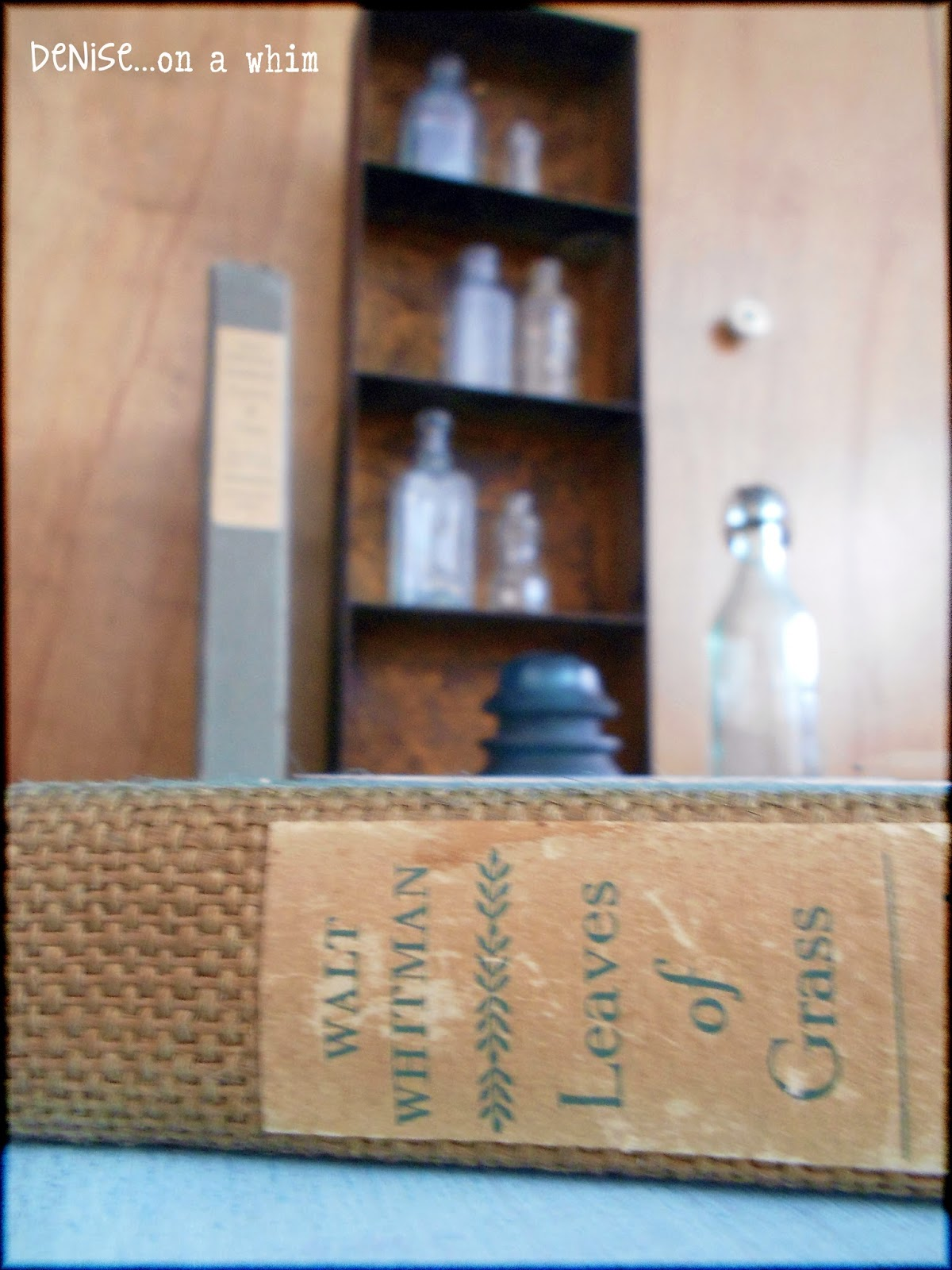 Vintage copy of Leaves of Grass via http://deniseonawhim.blogspot.com