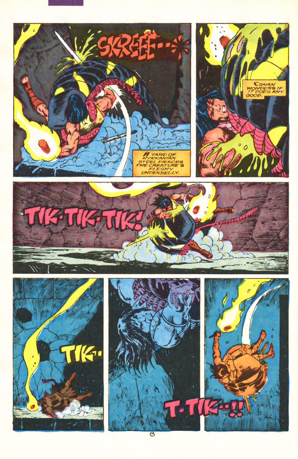 Conan the Barbarian (1970) Issue #212 #224 - English 7