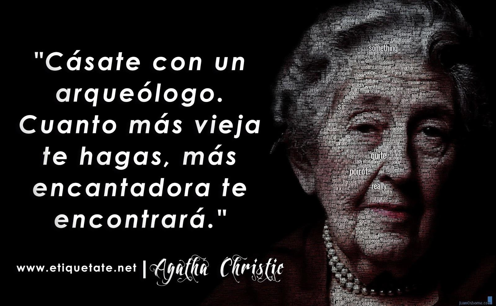 Frases de Reflexión de Agatha Christie