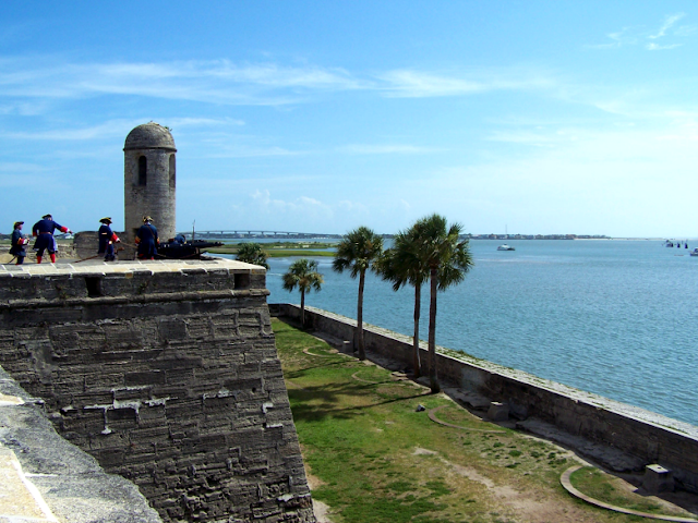 The Fort at St. Augustine, Florida