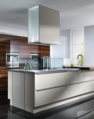 modern luxury kitchen design - stainless steel