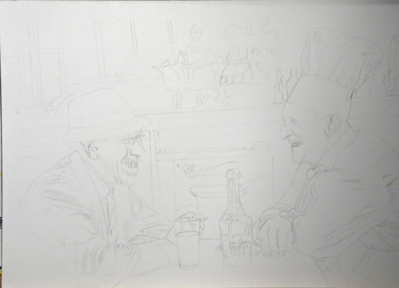 Fernandel, Bourvil, cuisine au beurre, Antoine Delesalle
