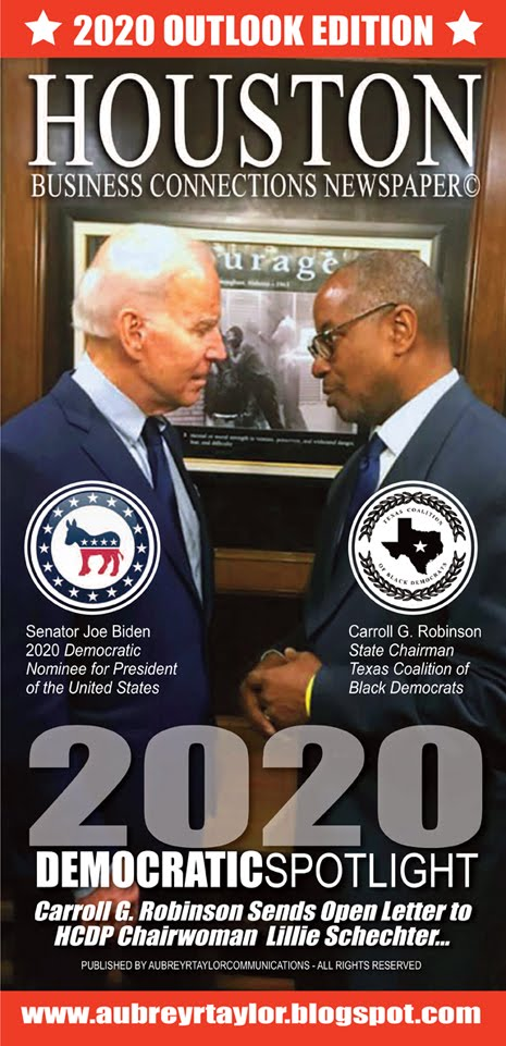 Carroll G Robinson Face to Face with Senator Joe Biden, the 2020 Democratic Presidential Nominee
