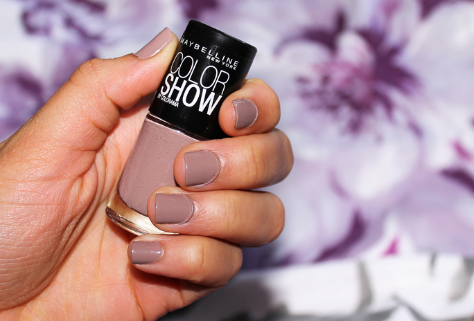Fresh Lengths: NOTD | Maybelline Color Show Mauve Kiss