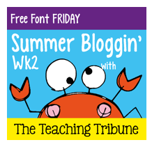 http://www.theteachingtribune.com/2014/06/free-font-friday-2.html
