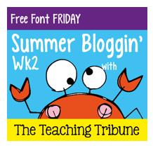 http://www.theteachingtribune.com/2014/06/free-font-friday-2.html