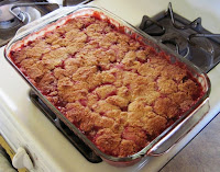 rhubarb crumble julie green and keen