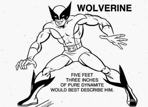 Seeing Action From Wolverine Coloring Pages Free | New Coloring Pages