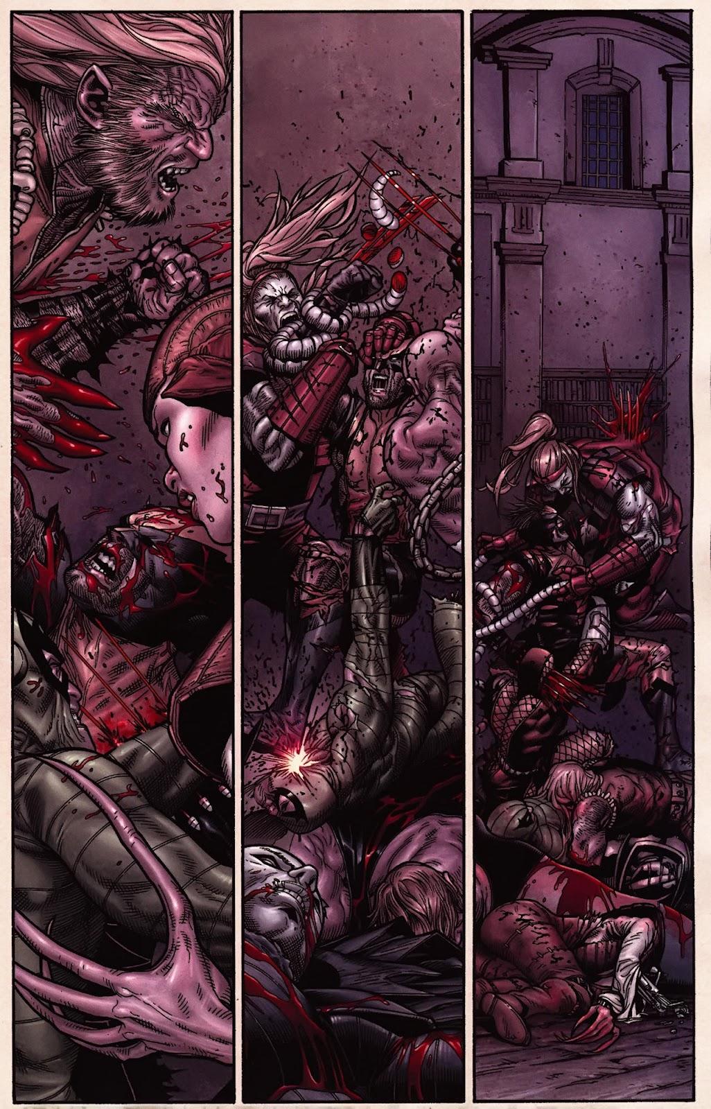 Read online Wolverine (2003) comic -  Issue #70 - 11