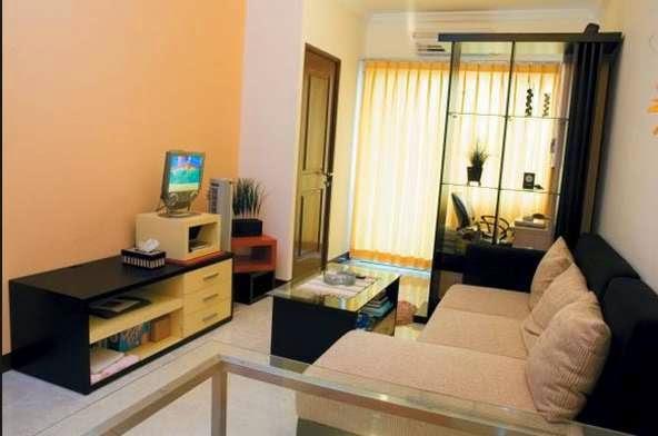Desain ruang keluarga minimalis 8