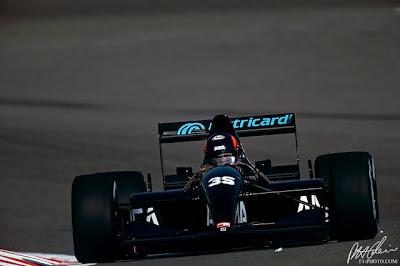 Andrea Moda, equipe histórica de Formula 1 de 1992 - by continental-circus.blogspot.com