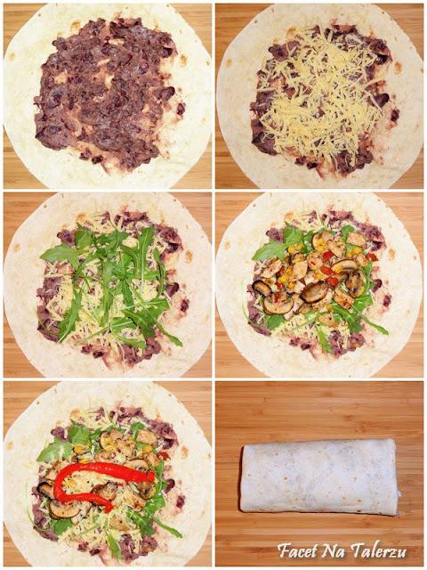 Chimichanga - chrupiąca tortilla pełna nadzienia