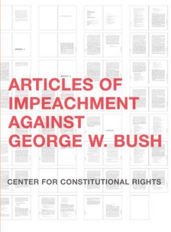 an analysis of articles of impeachment of george w bush The anniversary of trump's inauguration brought impeachment talk that was   leonhardt compared it with articles of impeachment against nixon, listing ten   yoo, assistant attorney general under george w bush, and author of the  in a  may 22 news analysis that the president had crossed a threshold,.