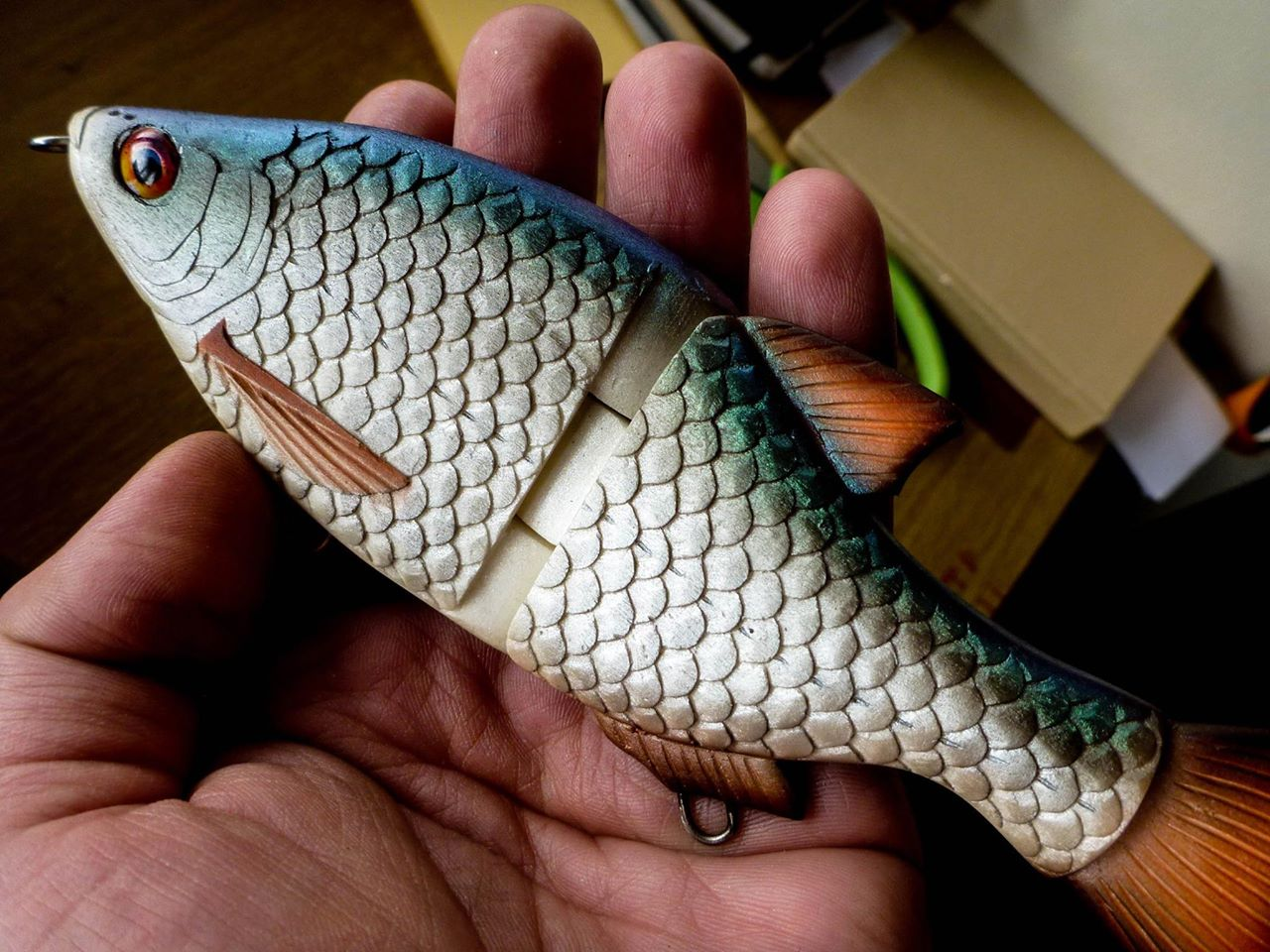 Homemade Fishing Lure Blog: Tank Test Tuesday