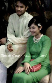 Gambar Majlis Bertunang Pertunangan Shahz Jaszle & Redzwani Puteri Kahwin