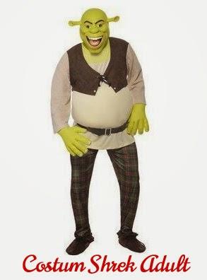 Costum Shrek Adult