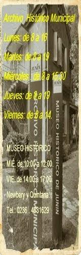 ARCHIVO HISTORICO MUNICIPAL..HORARIOS
