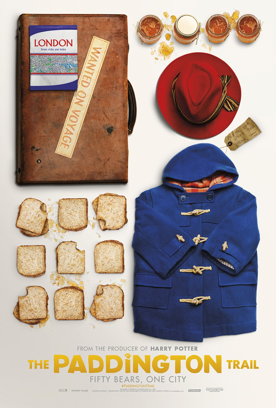 Paddington Bear outfit for The Paddington Bear Trail