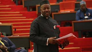 Why Saraki must resign now – Senator Akpabio