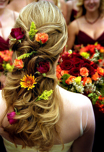 Wedding Hairstyles For Long Hair 2012