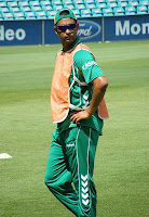 Robin peterson was the man of the match in the 2nd test 2013 vs Pakistan
