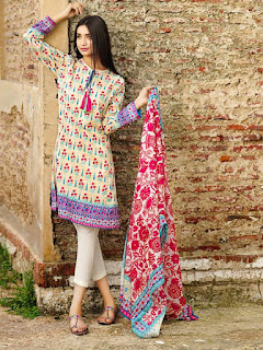 Khaadi Eid Lawn Collection 2015 for Women