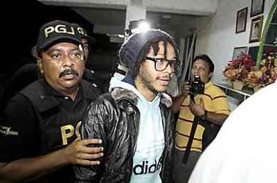 CASO KALIMBA Kalimbra OV7 arrestado