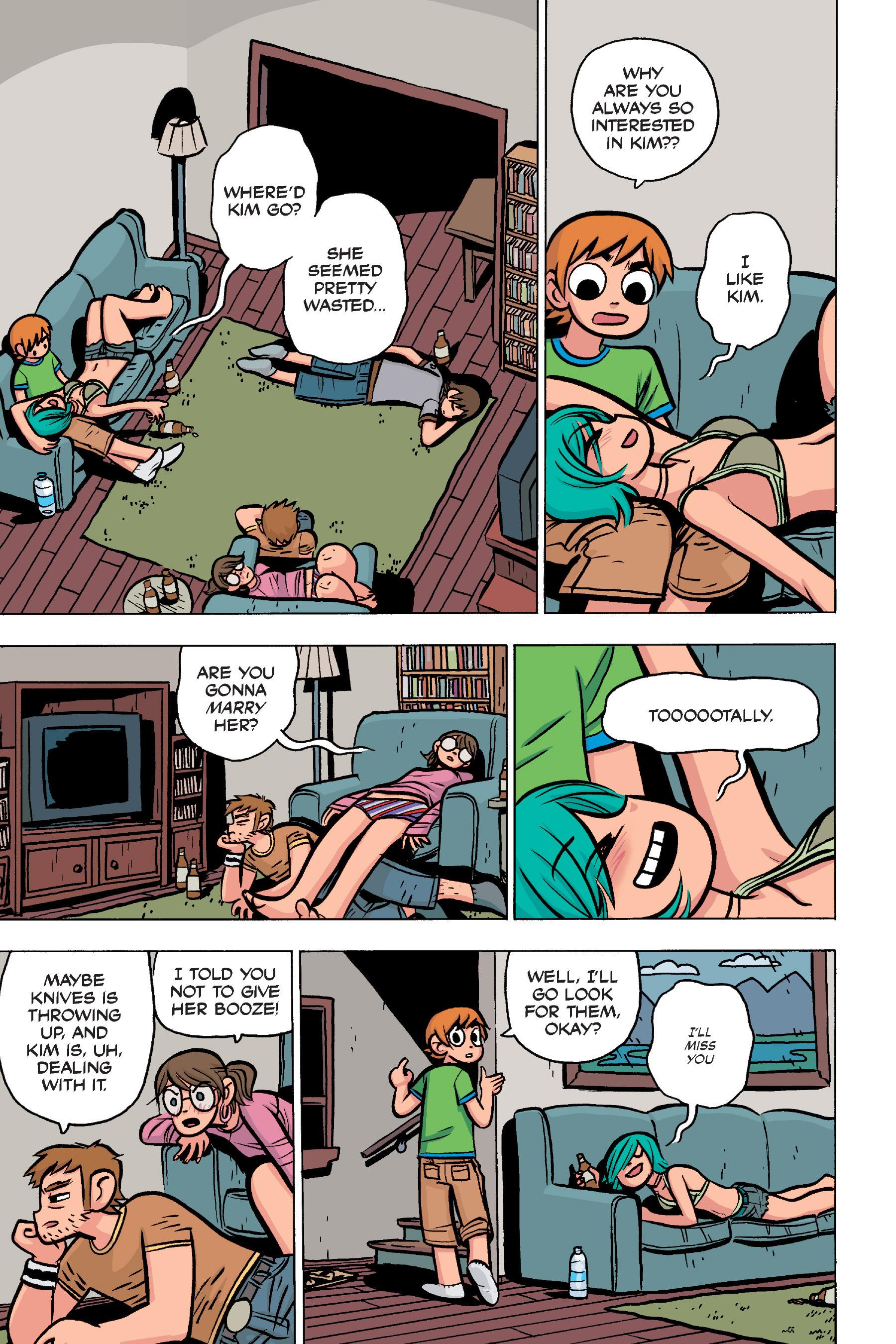 Read online Scott Pilgrim comic -  Issue #4 - 15