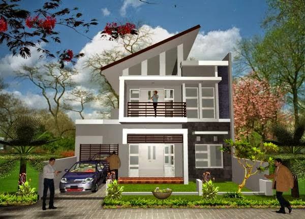 model rumah minimalis Sederhana Terpopuler5