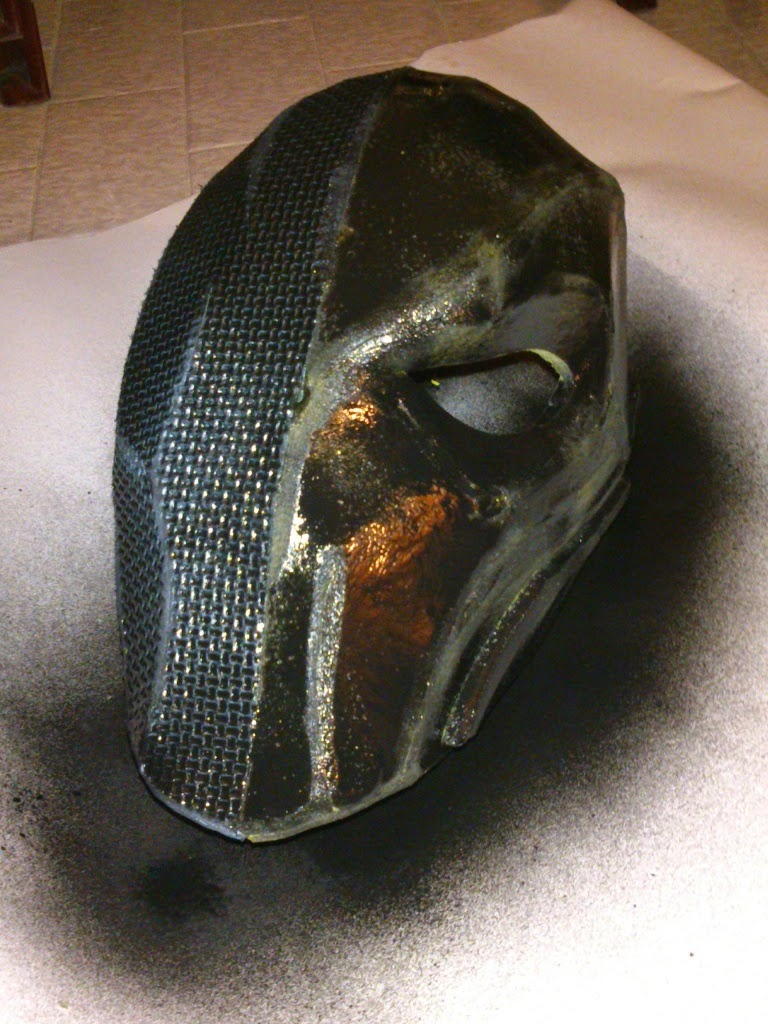 how to make deathstroke armor