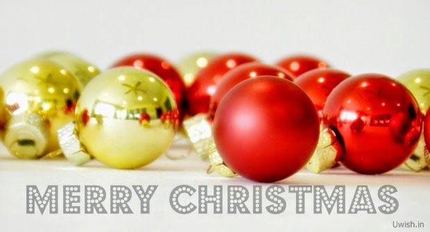 Merry Christmas wishes and greetings with jingle bells.