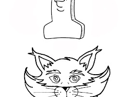 Free Animal Coloring Pages Cats