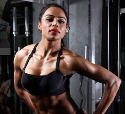 desi muscle girl