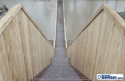 Reka Bentuk Jambatan Tenggelam Yang Menarik