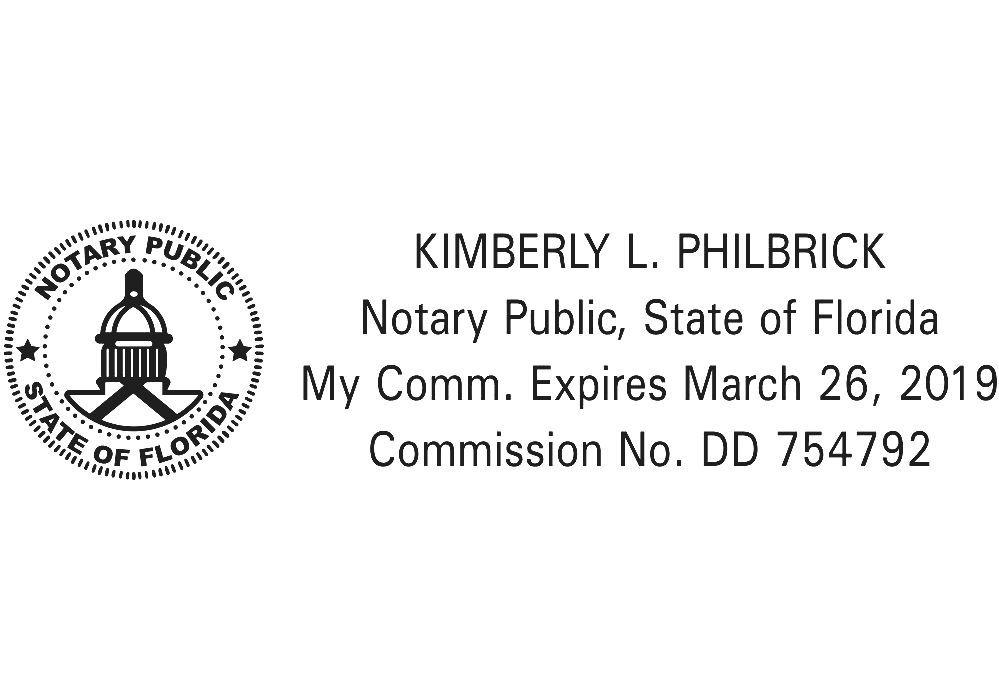 Notary Public (Florida)   Florida Notary Form
