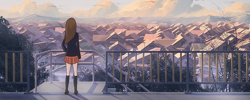 anime venetian view