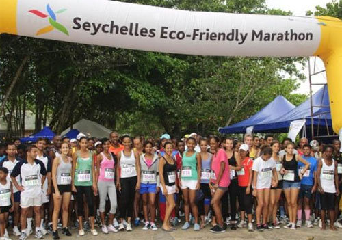 Miss Seychelles 2012 Eco Friendly Marathon