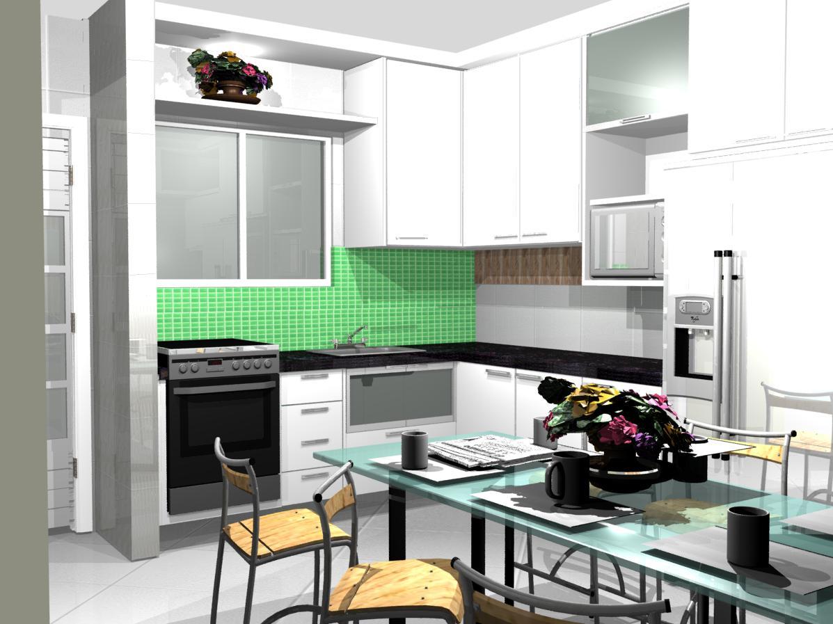 Pequenas Modernas Apartamentocozinhas Planejadas Pequenas Cozinhas  #AB8120 1197 897