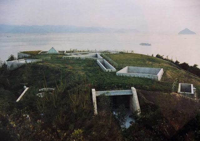 Museo Chichu, situado bajo tierra